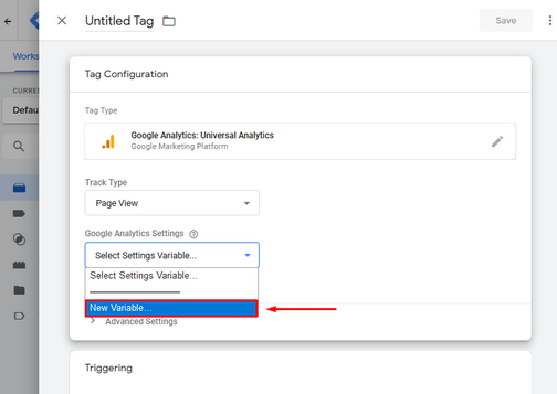 GTM - Google Tag Manager - Tutorijal - Tags - New variables