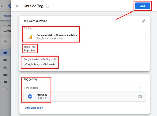 GTM - Google Tag Manager - Tutorijal - Tags - Save New Tag