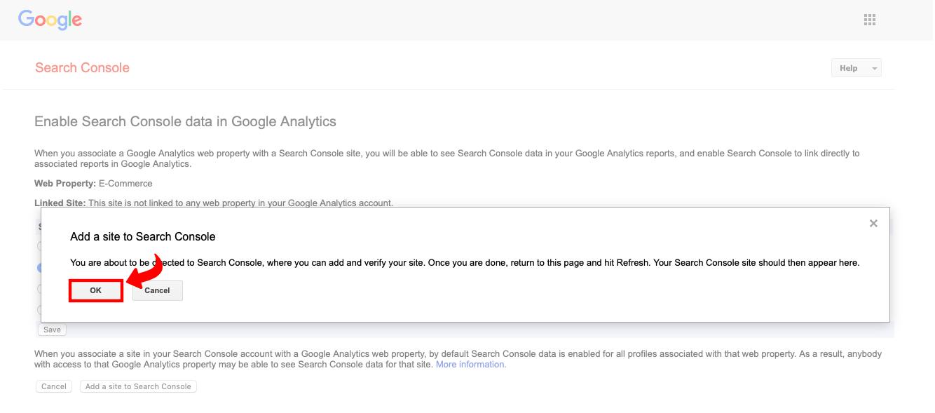Povezivanje Google Search Console i Google Analytics - 5